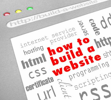 How to Build a Website - Web Screen